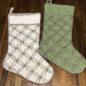 2 beautiful Christmas stockings